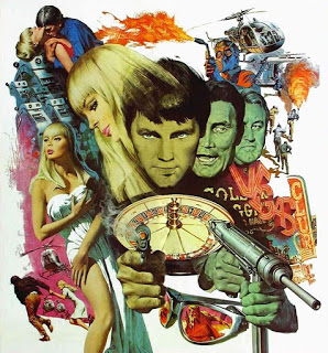 They Came to Rob Las Vegas poster art Elke Sommer Frank McCarthy
