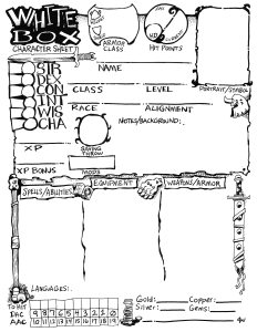 White_Box_Character_Sheet_NoLines